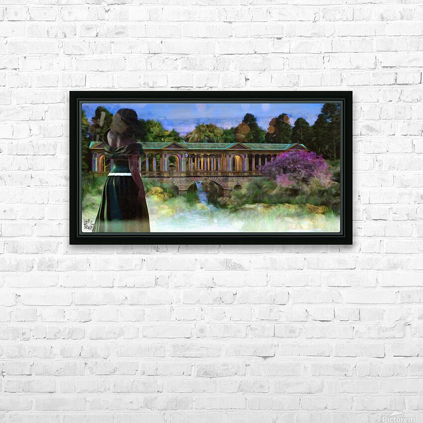 The Tranquil Span HD Sublimation Metal print with Decorating Float Frame (BOX)