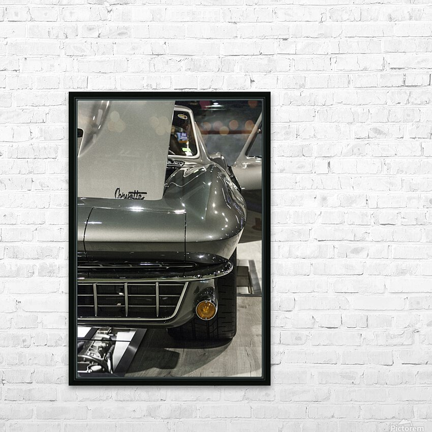 1965 Corvette HD Sublimation Metal print with Decorating Float Frame (BOX)