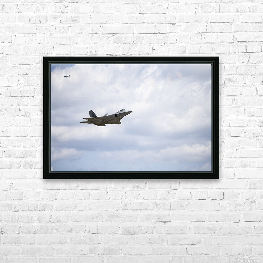 Military Pass HD Sublimation Metal print with Decorating Float Frame (BOX)