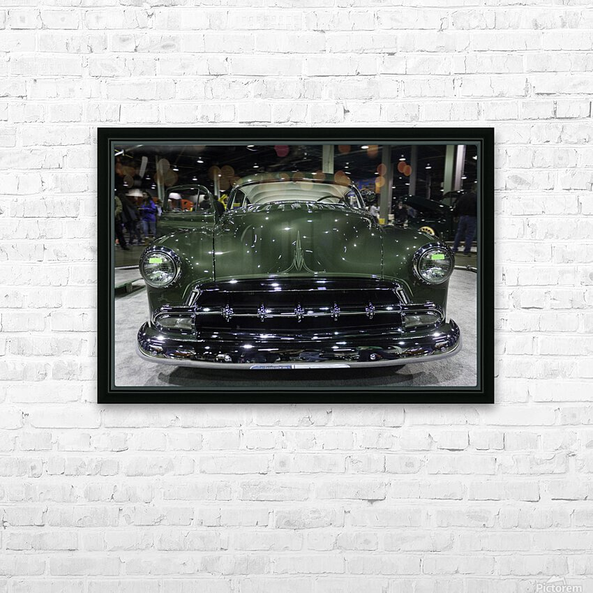 1950 Mercury HD Sublimation Metal print with Decorating Float Frame (BOX)