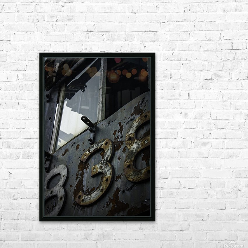 Engine 838 HD Sublimation Metal print with Decorating Float Frame (BOX)