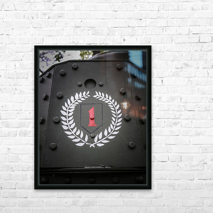 The first Division HD Sublimation Metal print with Decorating Float Frame (BOX)