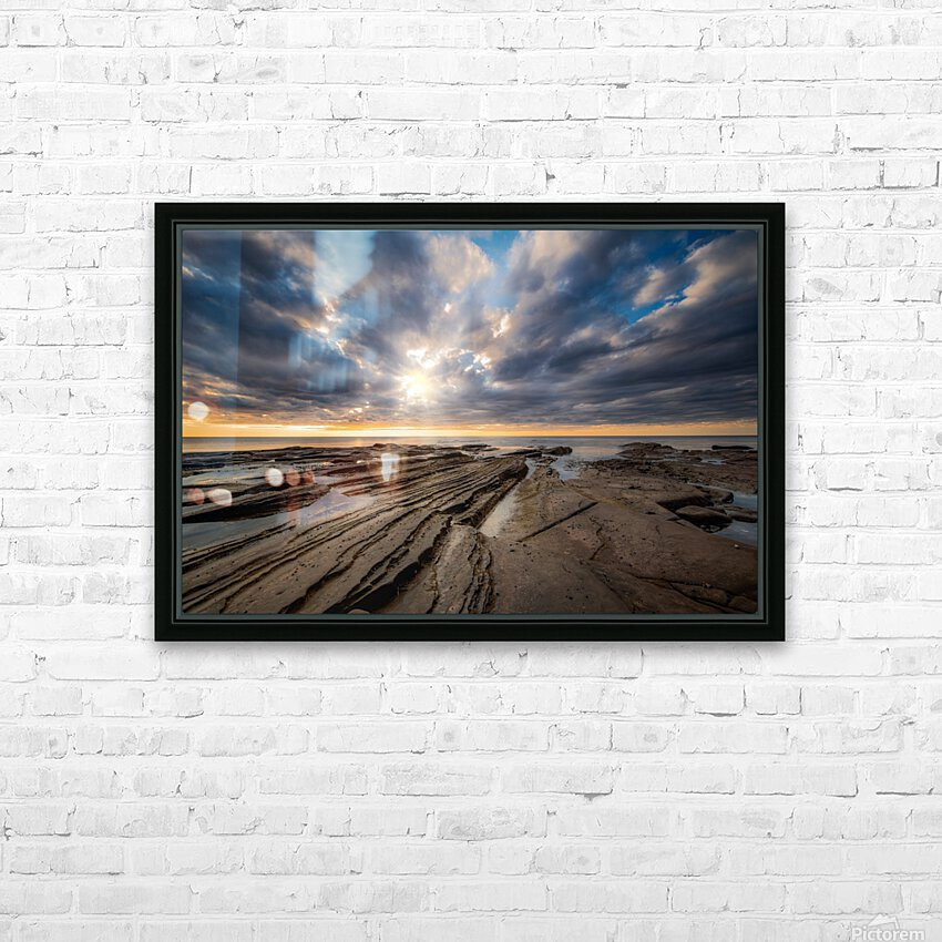 The Glory HD Sublimation Metal print with Decorating Float Frame (BOX)
