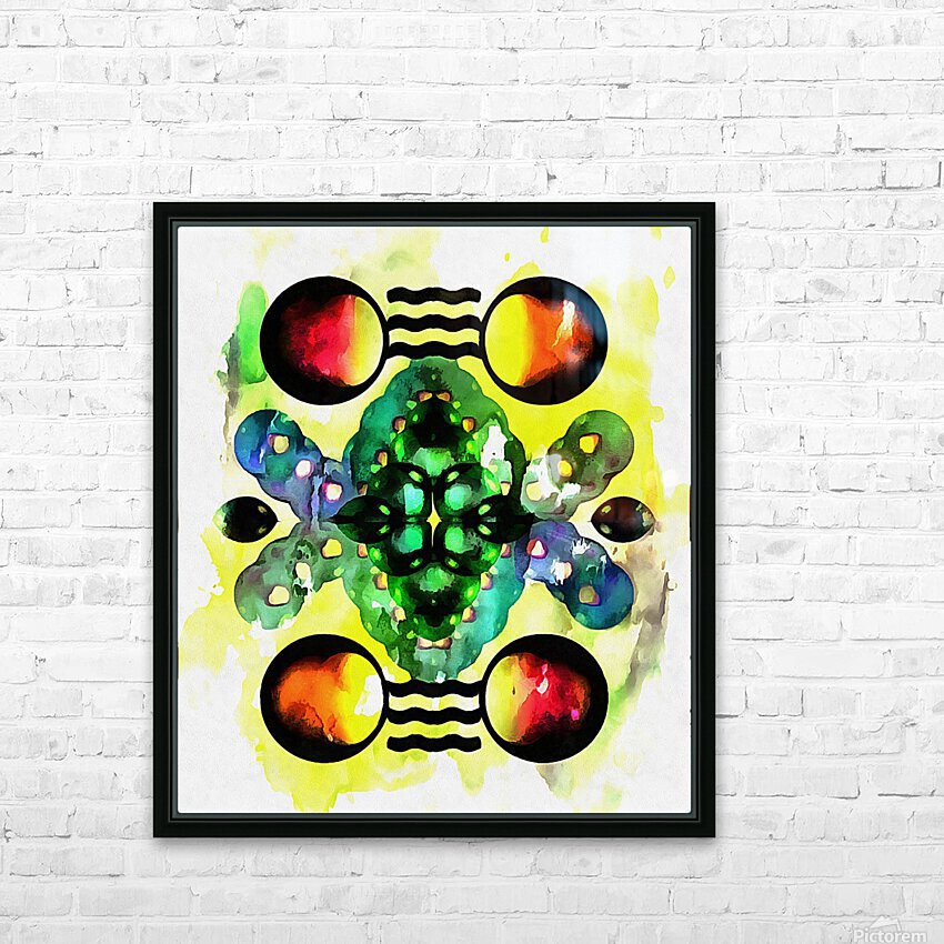 Hado Energy 3 HD Sublimation Metal print with Decorating Float Frame (BOX)