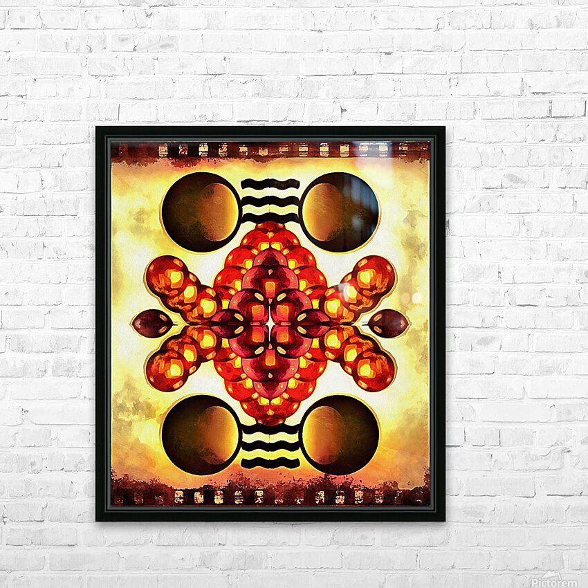 Hado Energy 9 HD Sublimation Metal print with Decorating Float Frame (BOX)