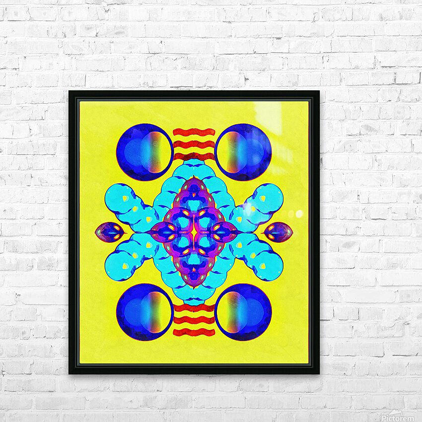 Hado Energy 8 HD Sublimation Metal print with Decorating Float Frame (BOX)