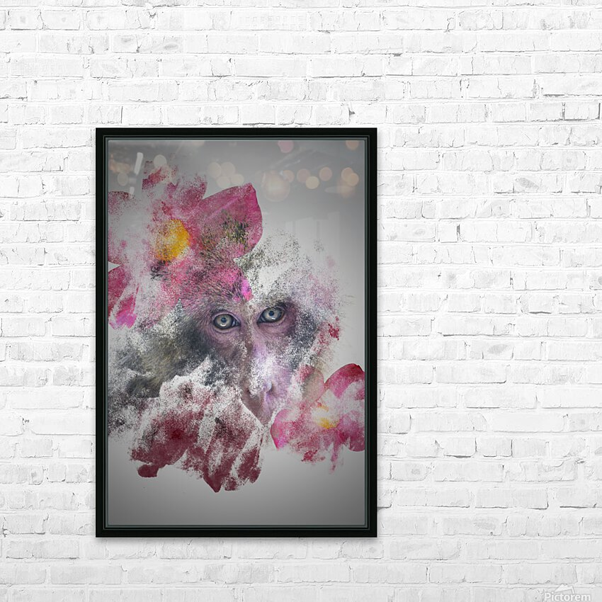 Singe HD Sublimation Metal print with Decorating Float Frame (BOX)