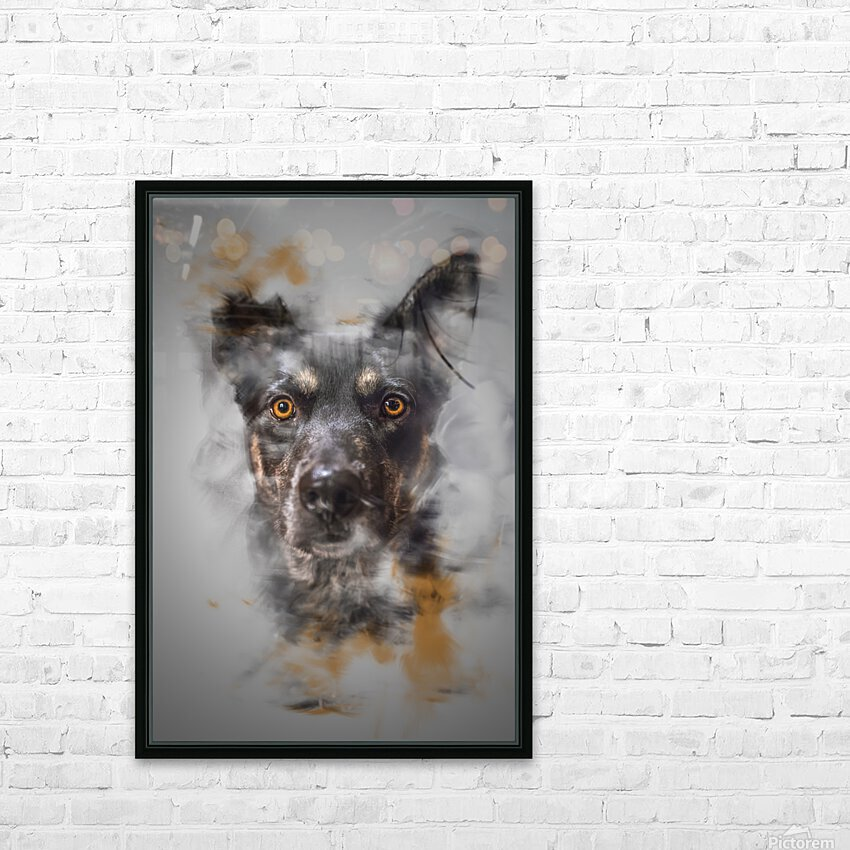 Chien HD Sublimation Metal print with Decorating Float Frame (BOX)