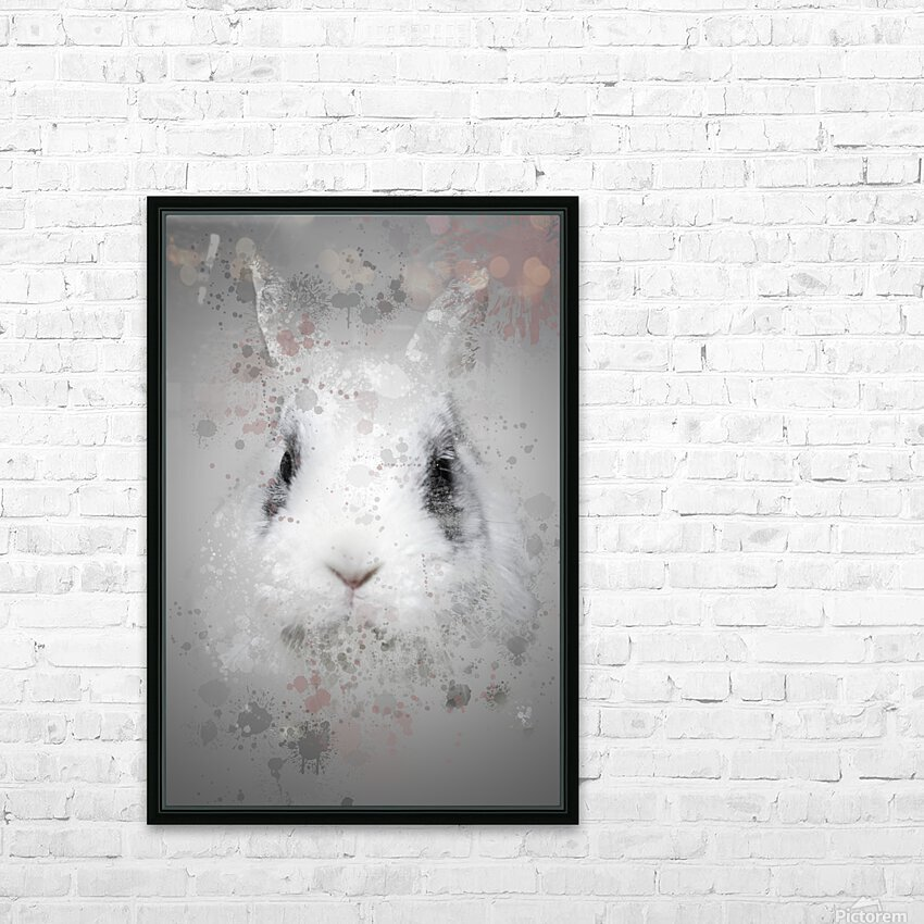 Lapin HD Sublimation Metal print with Decorating Float Frame (BOX)