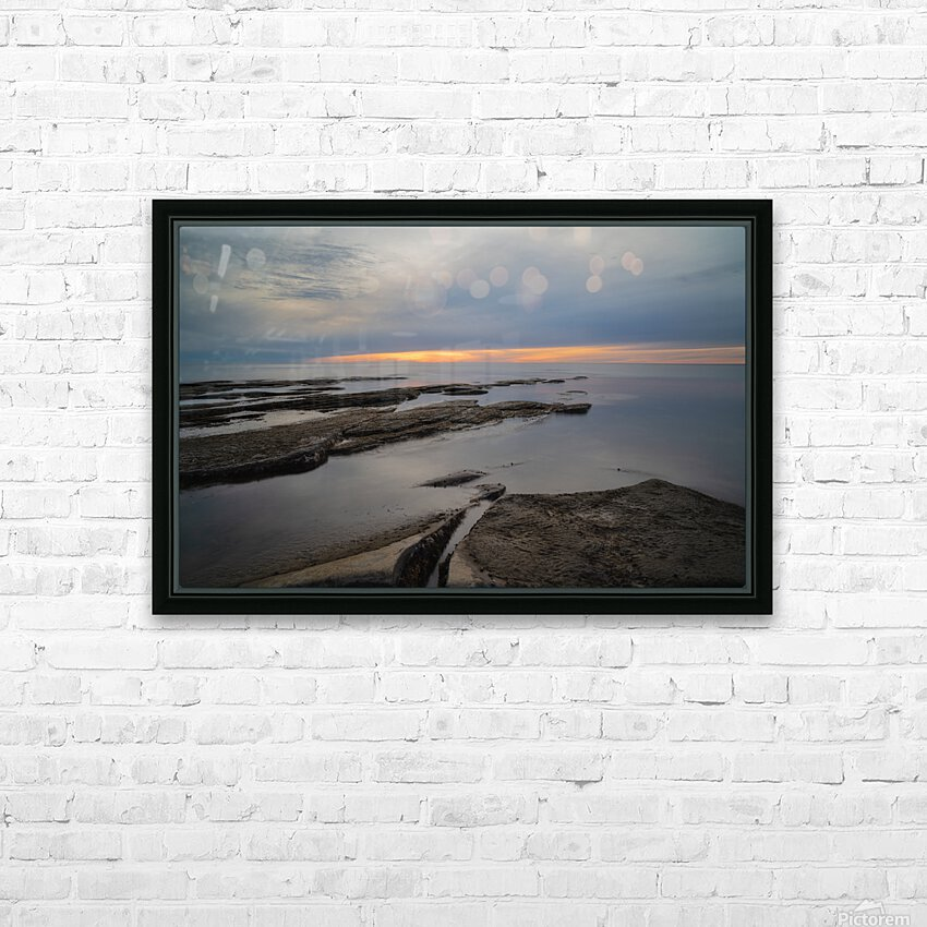 That Peaceful Place HD Sublimation Metal print with Decorating Float Frame (BOX)