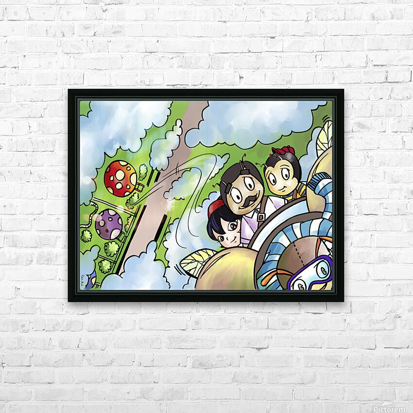 Let Your Dreams Take Flight - A Dream of Tomorrow  - Bugville Critters HD Sublimation Metal print with Decorating Float Frame (BOX)