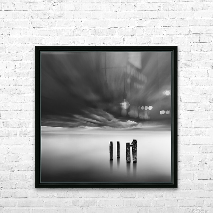 Time after Time HD Sublimation Metal print with Decorating Float Frame (BOX)