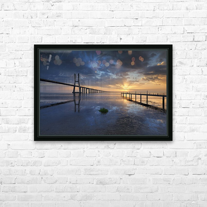 P H Y S I C A L HD Sublimation Metal print with Decorating Float Frame (BOX)