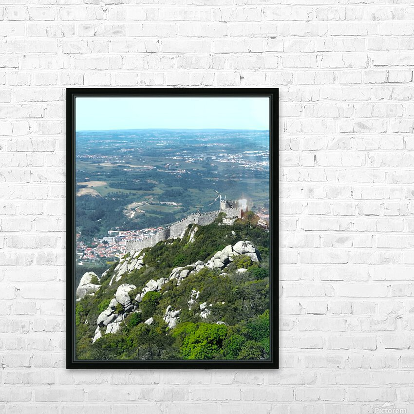 Castelo dos Mouros - Castle of the Moors - Sintra Portugal HD Sublimation Metal print with Decorating Float Frame (BOX)
