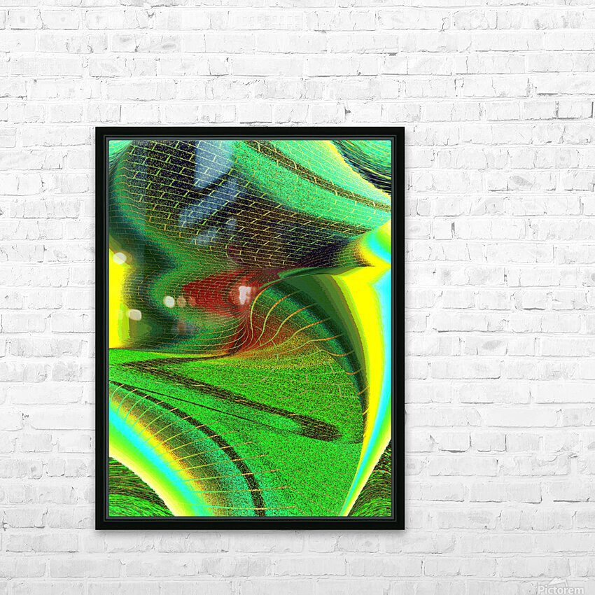 Brickabrack HD Sublimation Metal print with Decorating Float Frame (BOX)