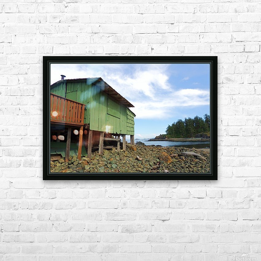 Ghost Island  HD Sublimation Metal print with Decorating Float Frame (BOX)