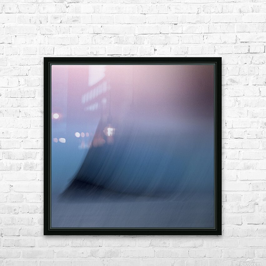 FADED MIND limited edition of 5- 3 left HD Sublimation Metal print with Decorating Float Frame (BOX)