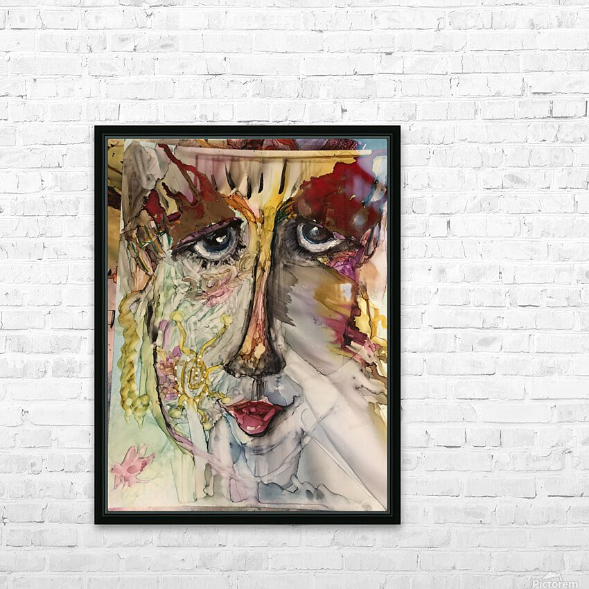 Higher Self HD Sublimation Metal print with Decorating Float Frame (BOX)