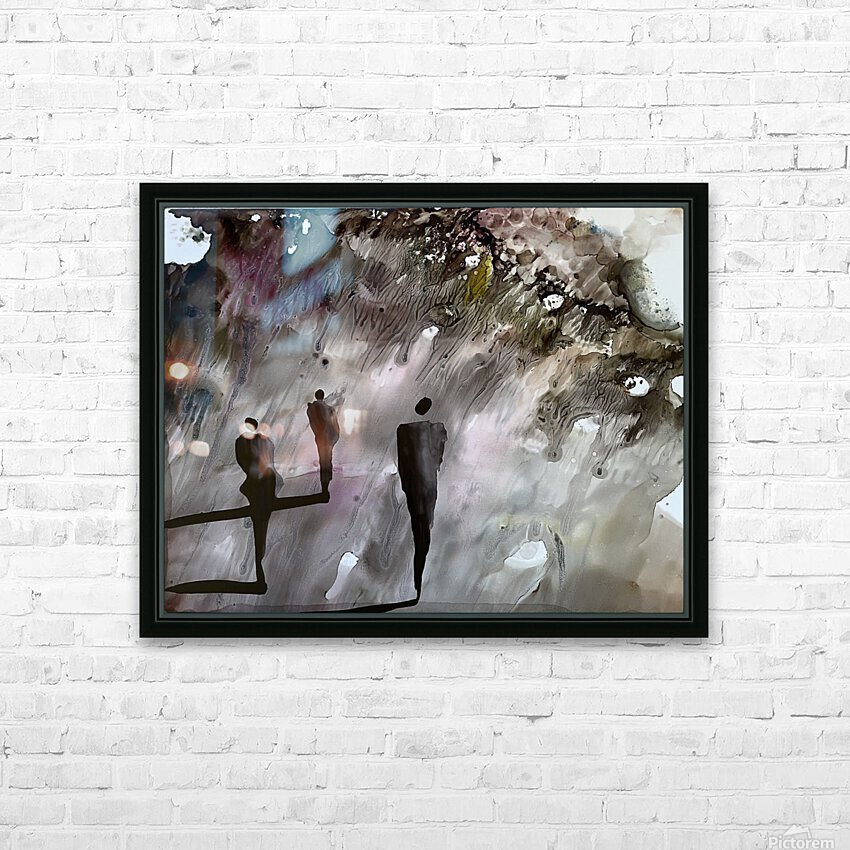 The Searchers HD Sublimation Metal print with Decorating Float Frame (BOX)