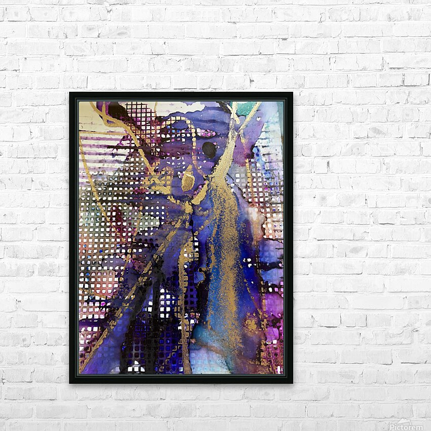 Breaking Free HD Sublimation Metal print with Decorating Float Frame (BOX)