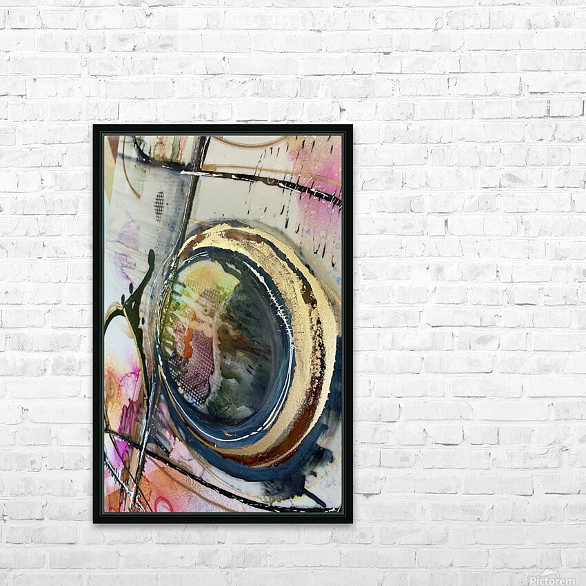 Circle Of Faith HD Sublimation Metal print with Decorating Float Frame (BOX)