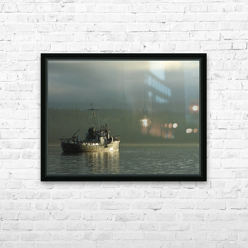 Basking HD Sublimation Metal print with Decorating Float Frame (BOX)
