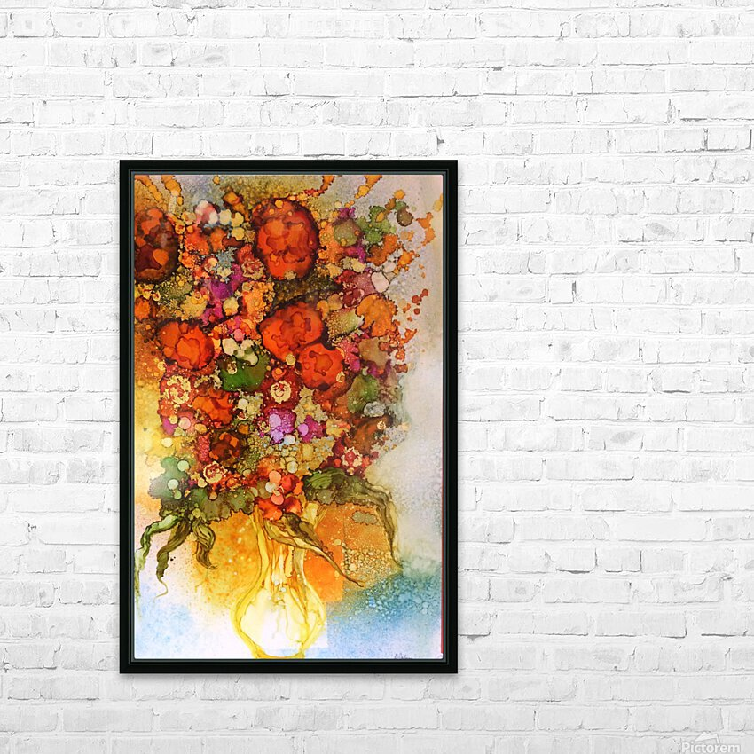 Luminosity HD Sublimation Metal print with Decorating Float Frame (BOX)