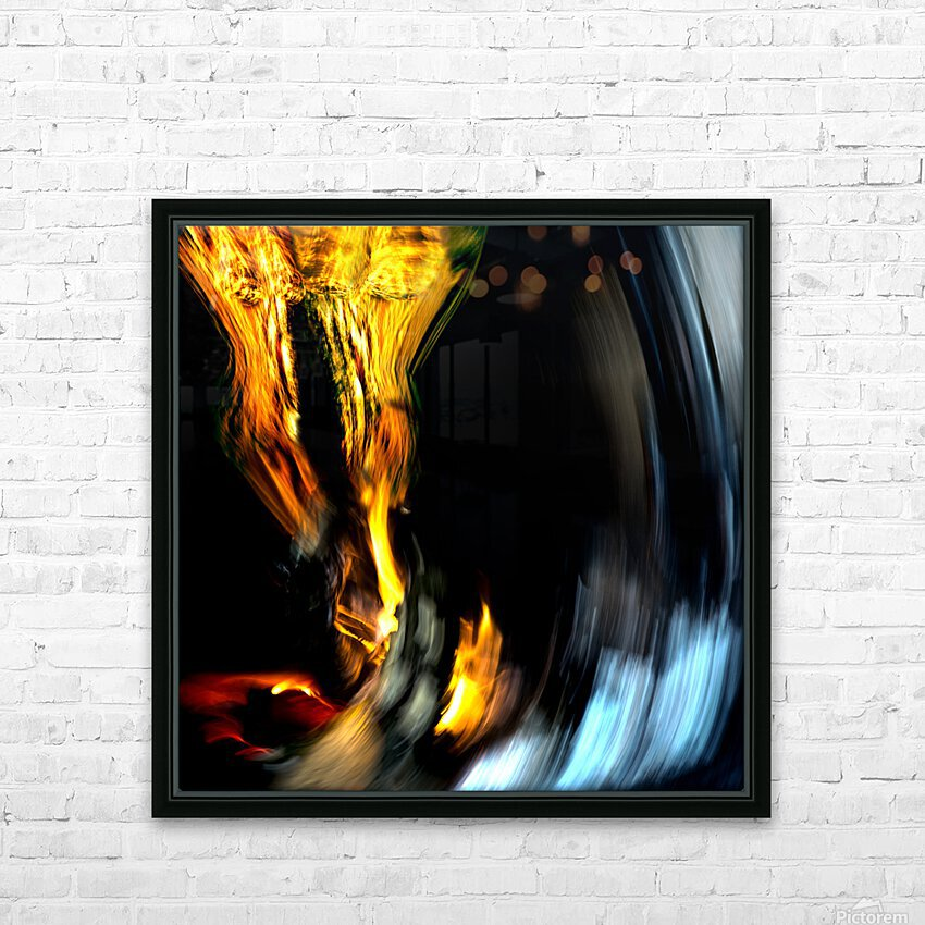 Drawn into temptation Limited edition of 5- 3 left HD Sublimation Metal print with Decorating Float Frame (BOX)