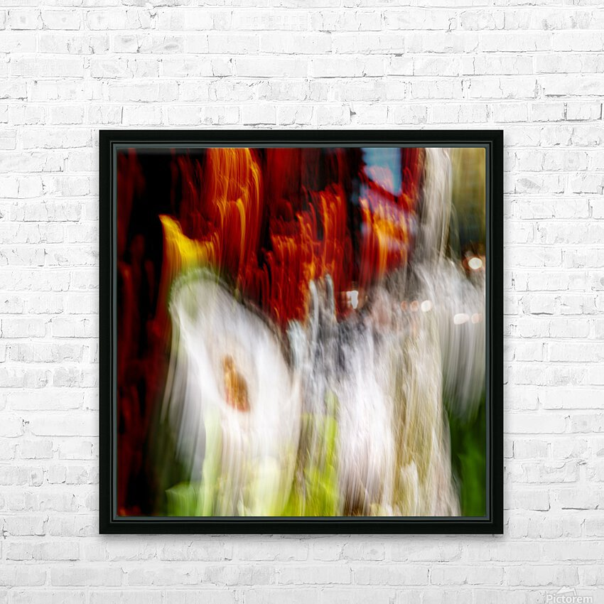 walk down Limited Edition of 5 HD Sublimation Metal print with Decorating Float Frame (BOX)