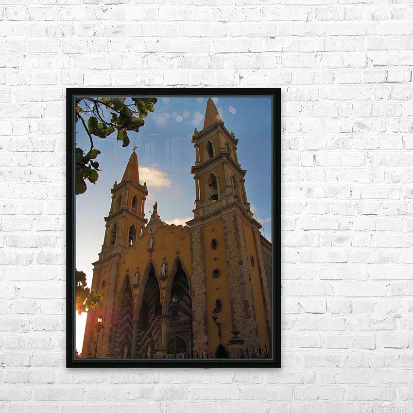 Catedral Basilica de Mazatlan HD Sublimation Metal print with Decorating Float Frame (BOX)
