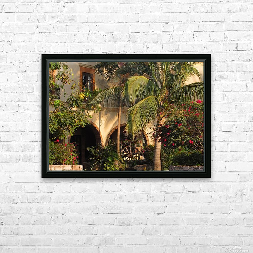 Lush and Beautiful  HD Sublimation Metal print with Decorating Float Frame (BOX)