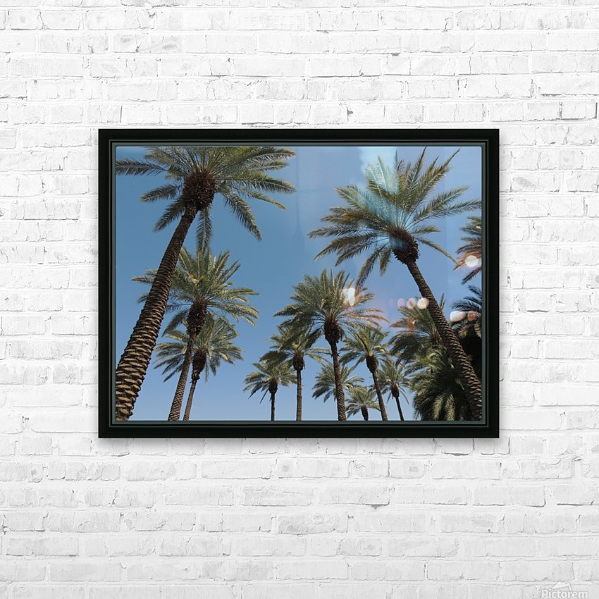 Date Garden Oasis HD Sublimation Metal print with Decorating Float Frame (BOX)