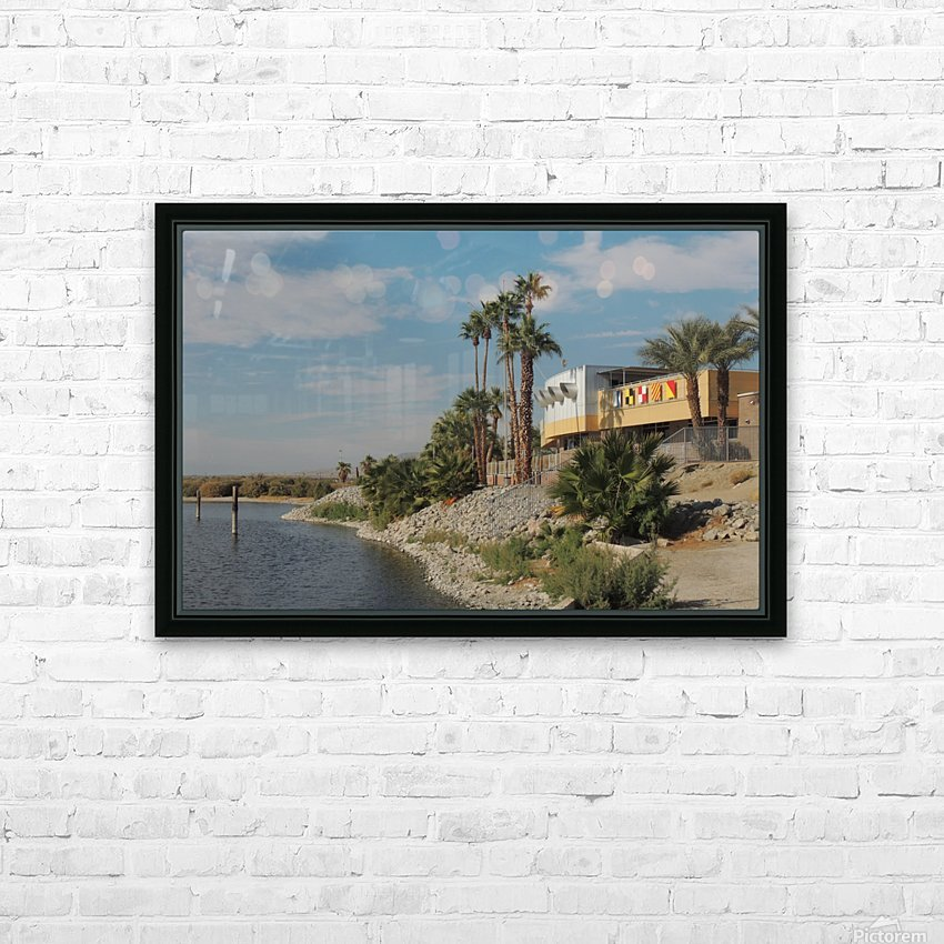 North Shore Beach & Yacht Club HD Sublimation Metal print with Decorating Float Frame (BOX)