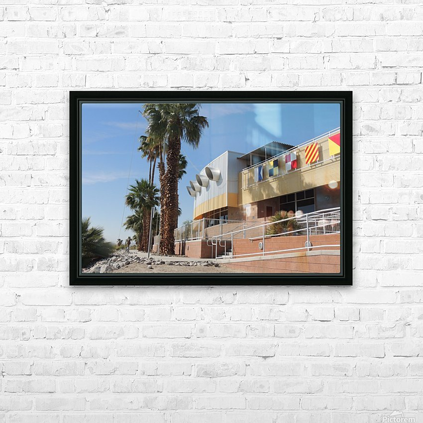 North Shore Beach & Yacht Club 2 HD Sublimation Metal print with Decorating Float Frame (BOX)