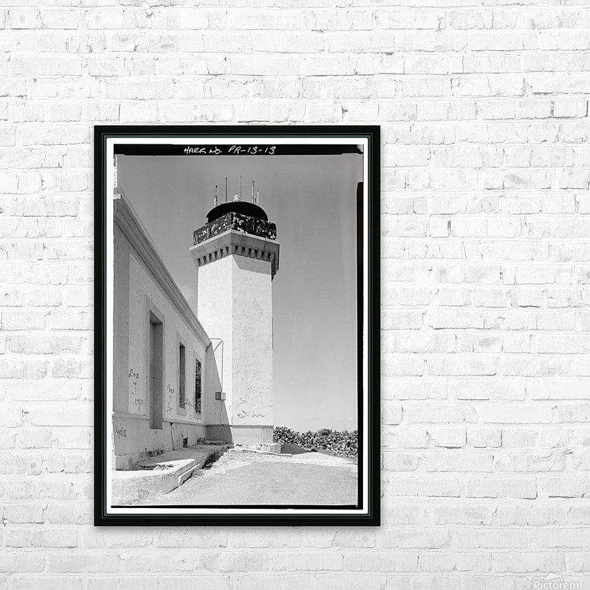 Faro de los Morillos de Arecibo, Puerto Rico HD Sublimation Metal print with Decorating Float Frame (BOX)