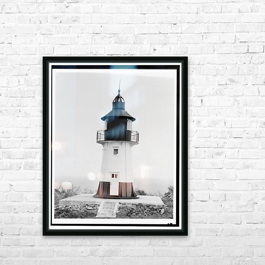 Hams-Bluff-Lighthouse-US-Virgin-Islands HD Sublimation Metal print with Decorating Float Frame (BOX)