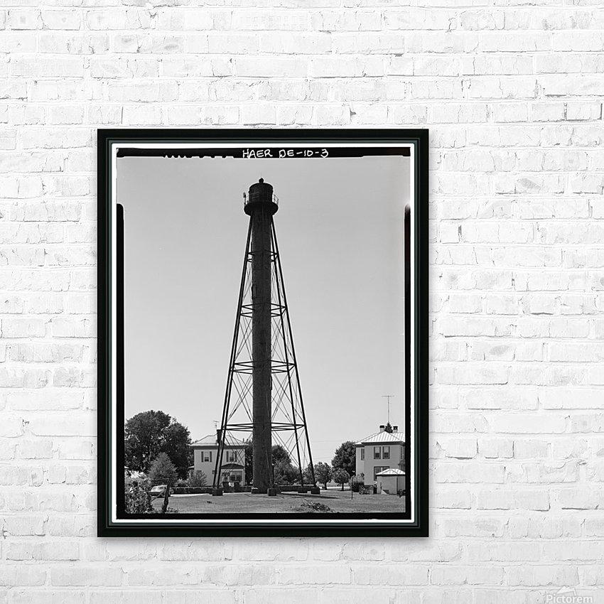 Liston-Range-Rear-Light-Delaware HD Sublimation Metal print with Decorating Float Frame (BOX)
