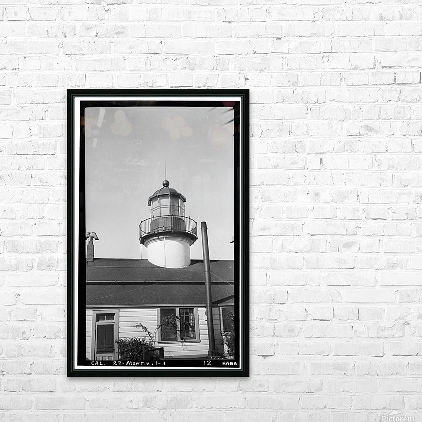 Point-Pinos-Lighthouse-CA HD Sublimation Metal print with Decorating Float Frame (BOX)