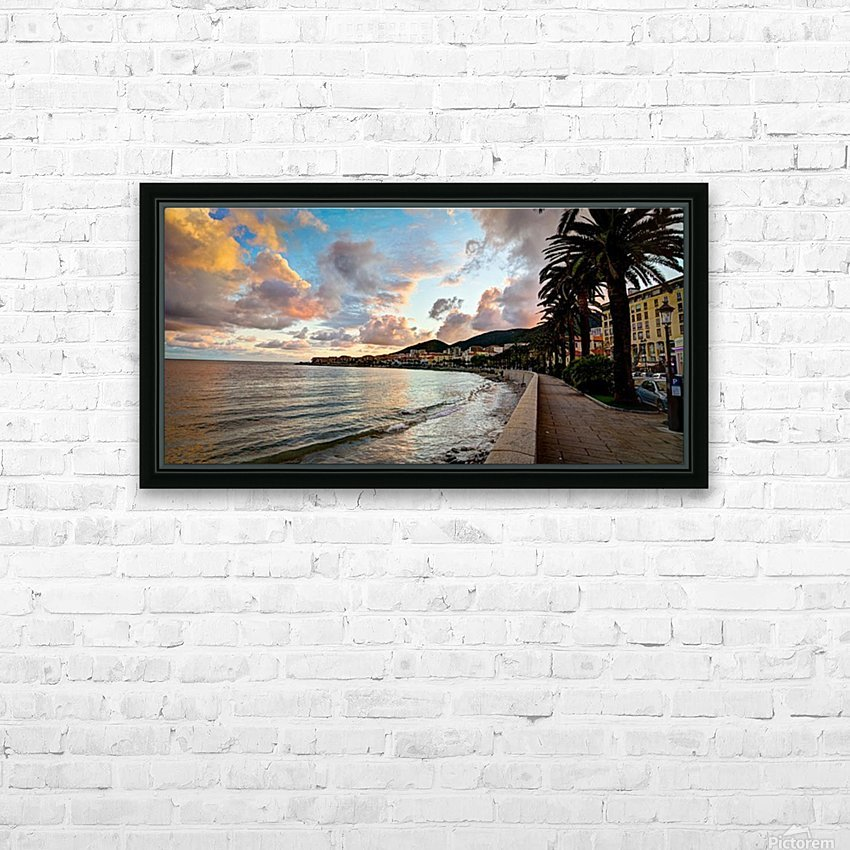 ajaccio HD Sublimation Metal print with Decorating Float Frame (BOX)