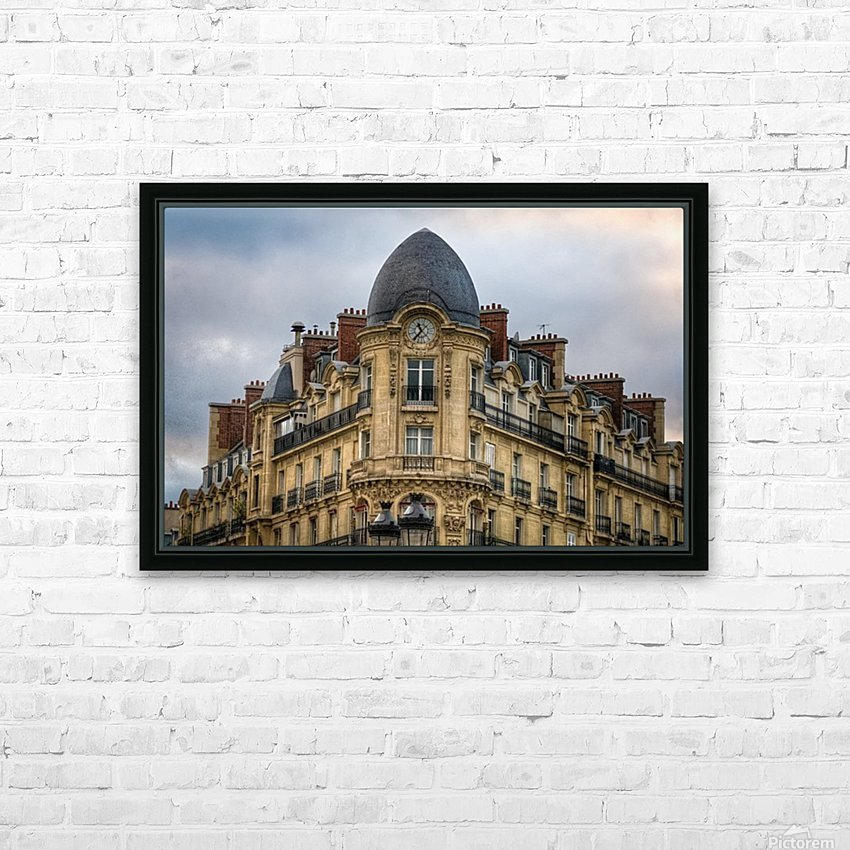 Paris Style HD Sublimation Metal print with Decorating Float Frame (BOX)