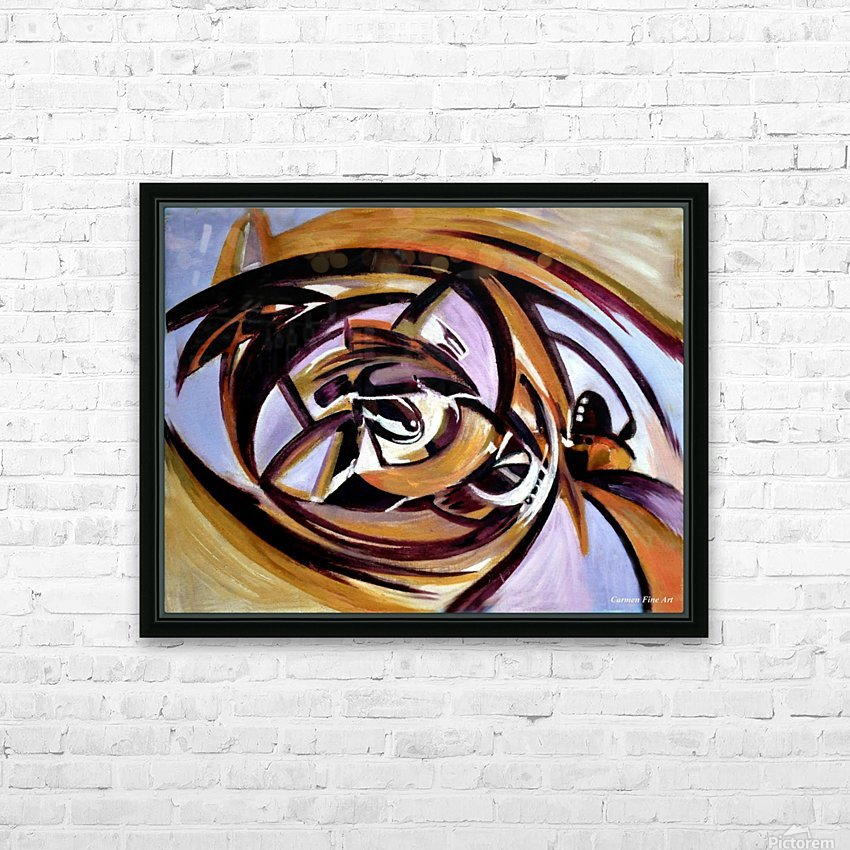 The Architectonic Autobiography HD Sublimation Metal print with Decorating Float Frame (BOX)