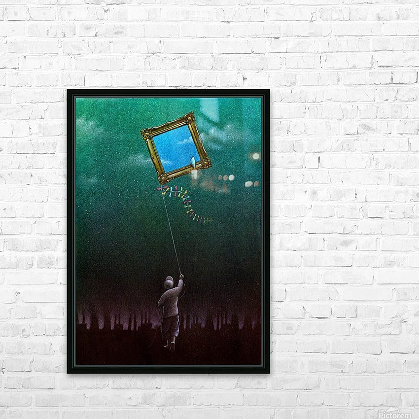 picture HD Sublimation Metal print with Decorating Float Frame (BOX)