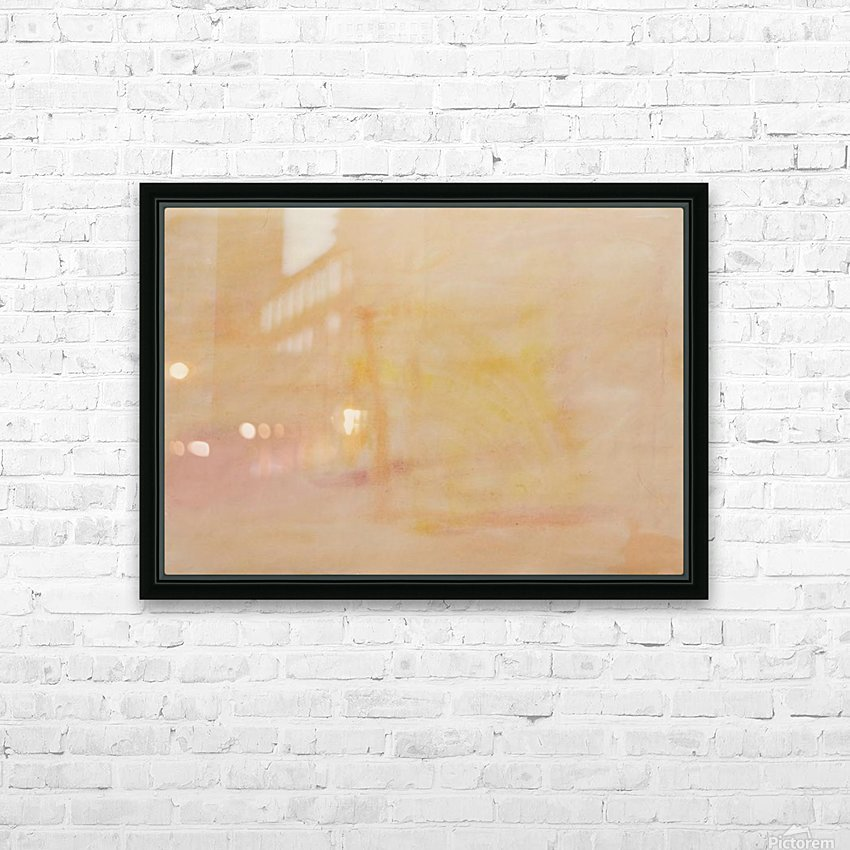 The enlightened sealing corner HD Sublimation Metal print with Decorating Float Frame (BOX)