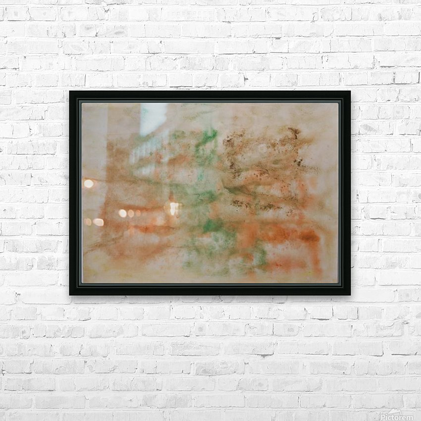Composition 1 HD Sublimation Metal print with Decorating Float Frame (BOX)