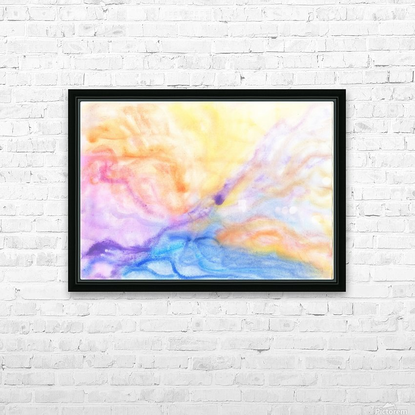Storm HD Sublimation Metal print with Decorating Float Frame (BOX)