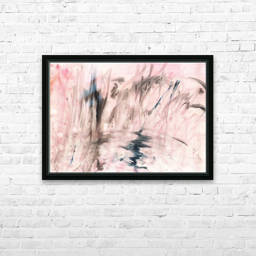 Anger. Composition 4 HD Sublimation Metal print with Decorating Float Frame (BOX)