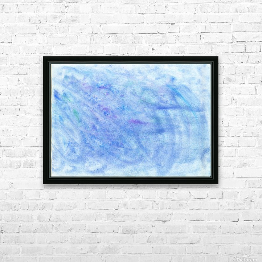 Sea HD Sublimation Metal print with Decorating Float Frame (BOX)