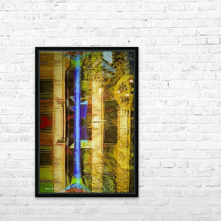 Bricks and Wheels Reflected_141111_1513_0904 HXSYV HD Sublimation Metal print with Decorating Float Frame (BOX)