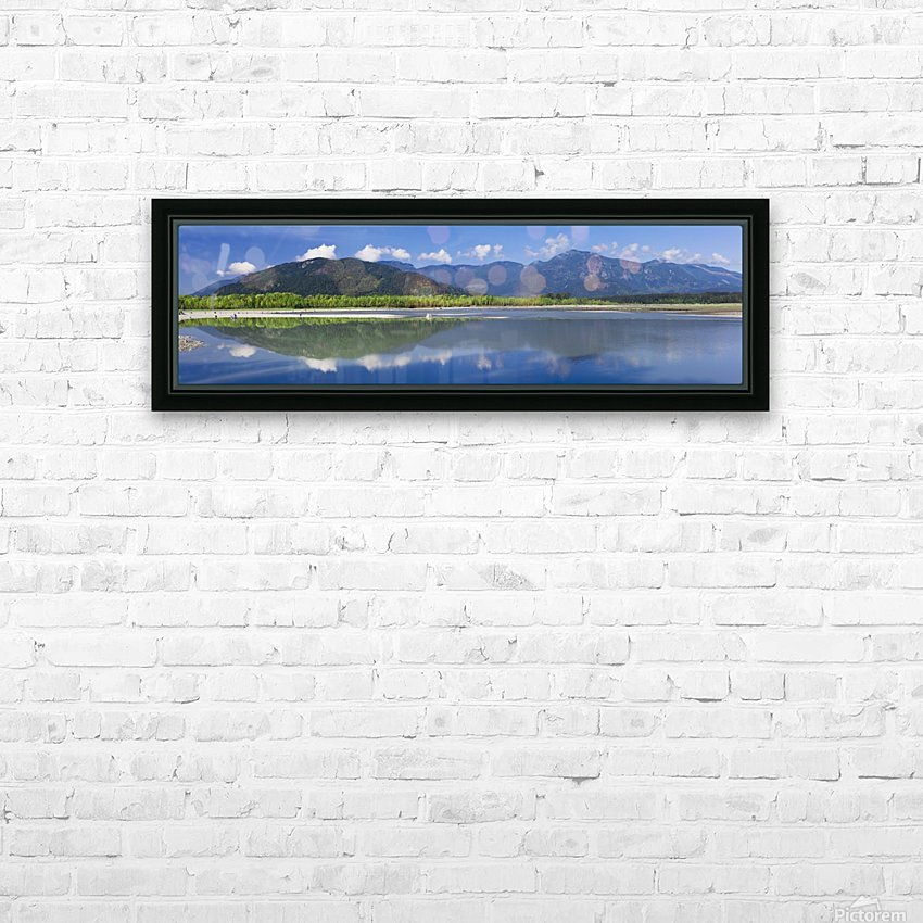 Peg Leg Bar in the morning; Chilliwack, British Columbia, Canada HD Sublimation Metal print with Decorating Float Frame (BOX)