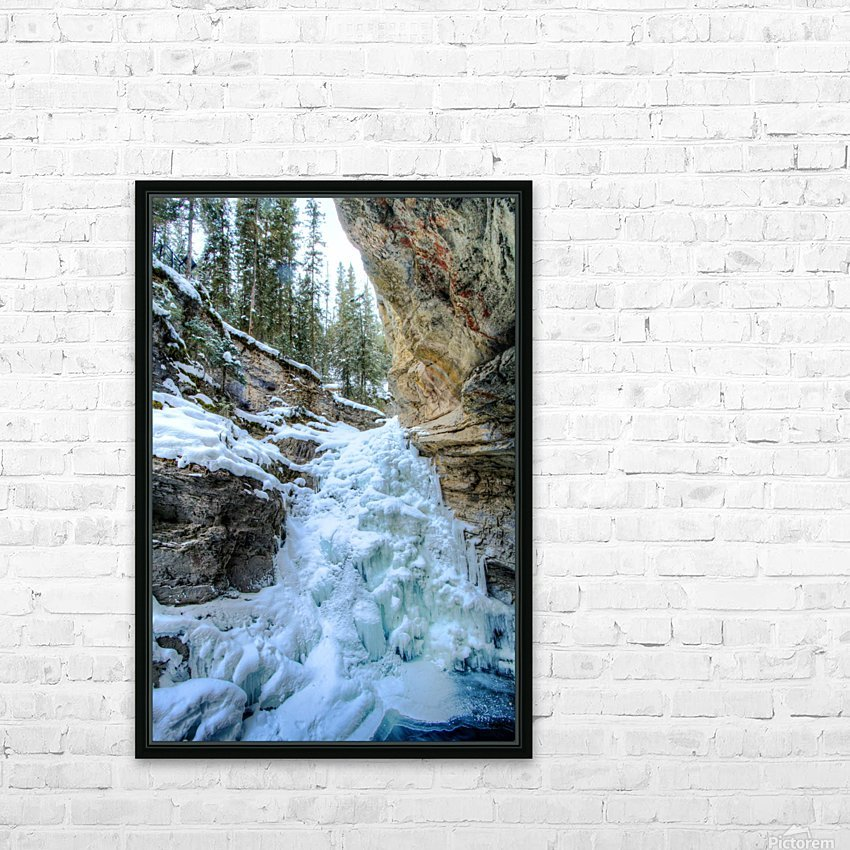 Frozen Moments HD Sublimation Metal print with Decorating Float Frame (BOX)